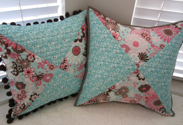Quilting Ideas For Pillows : Quilt Therapy