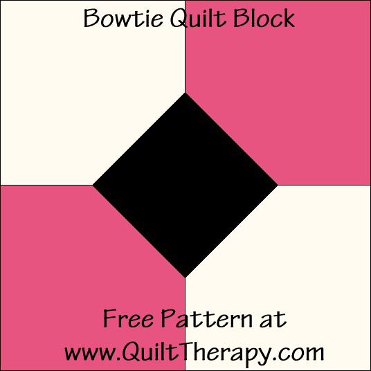 Bowtie Quilt Block
