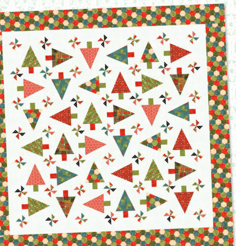 """Jovial"" Free Quilt Pattern designed by Basic Grey from Moda brought to you by www.QuiltTherapy.com"