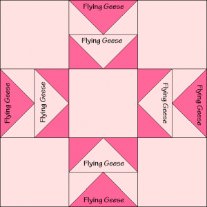 Eight-Pointed Star Quilt Block Diagram Free Pattern at QuiltTherapy.com!