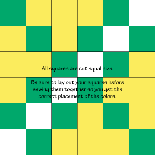 Double Irish Chain Quilt Block Diagram Free Pattern at QuiltTherapy.com!