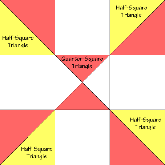 Practical Orchard Quilt Block Diagram Free Pattern at QuiltTherapy.com!