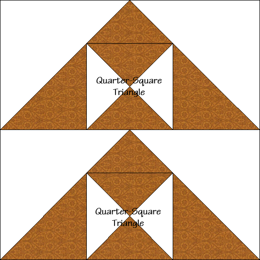 Hill and Valley Quilt Block Diagram Free Pattern at QuiltTherapy.com!