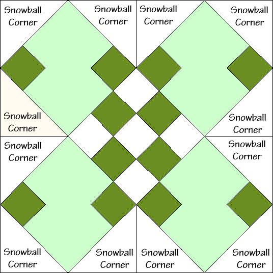 Eva's Delight Quilt Block Diagram Free Pattern at QuiltTherapy.com!