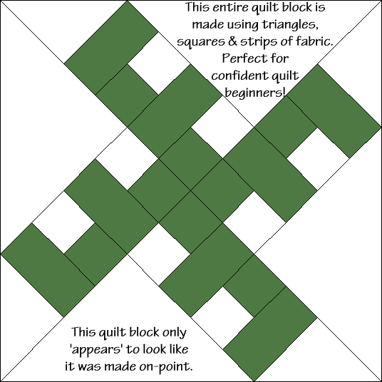 Flora's Favorite Quilt Block Diagram Free Pattern at QuiltTherapy.com!