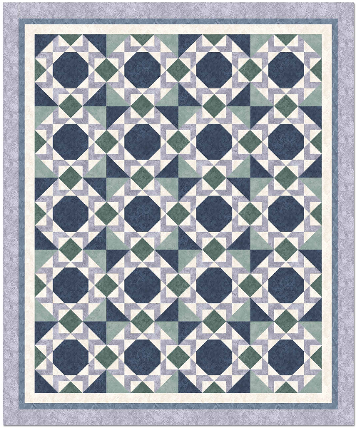 """Aged to Perfection"" Free Quilt Pattern designed Susan Tudor from E.E. Schenck Company"