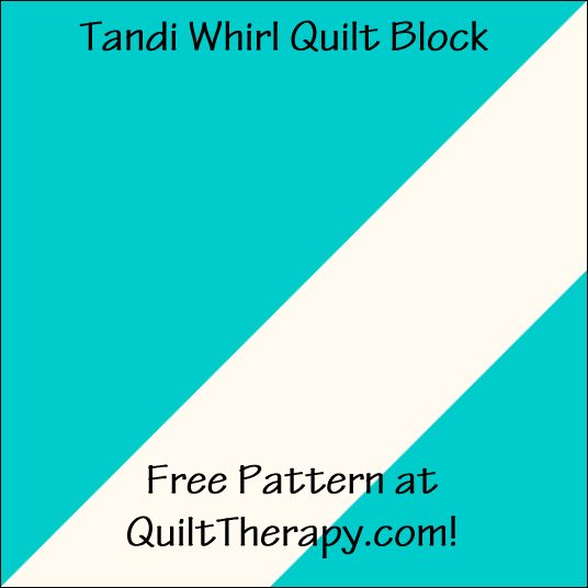 """Tandi Wheel Quilt Block is a Free Pattern for a 12"""" quilt block at QuiltTherapy.com!"""
