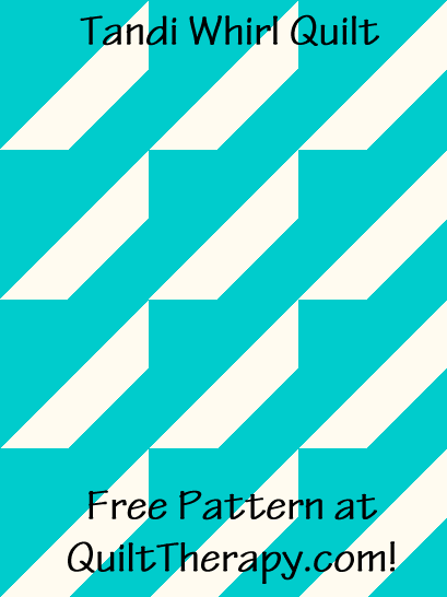 """Tandi Wheel Quilt is a Free Pattern for a 36"""" x 48"""" quilt at QuiltTherapy.com!"""
