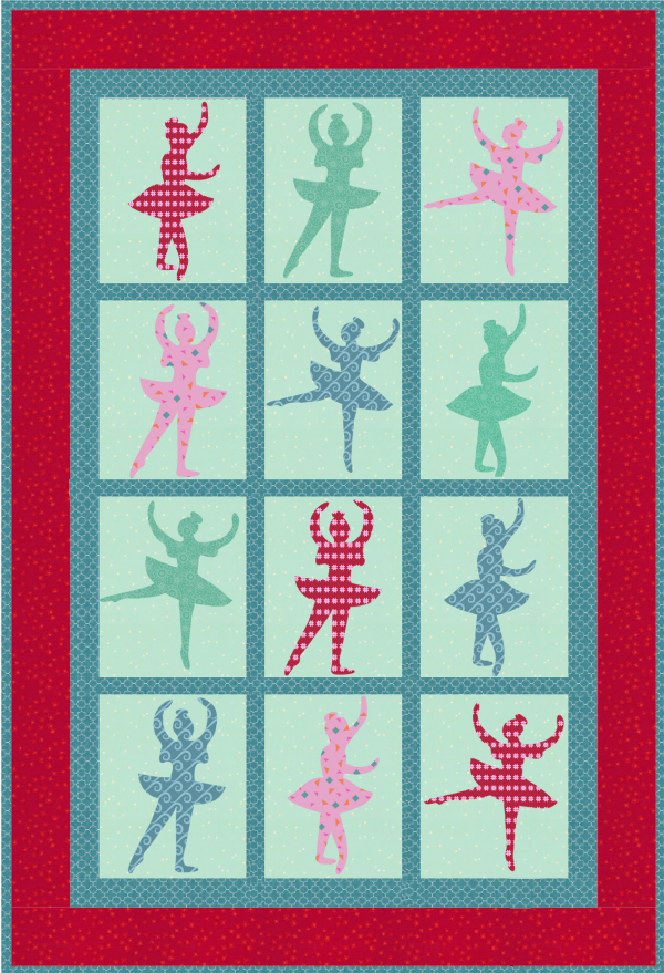"""Sugarplum Dreams"" October 2018 Quilt Dash"