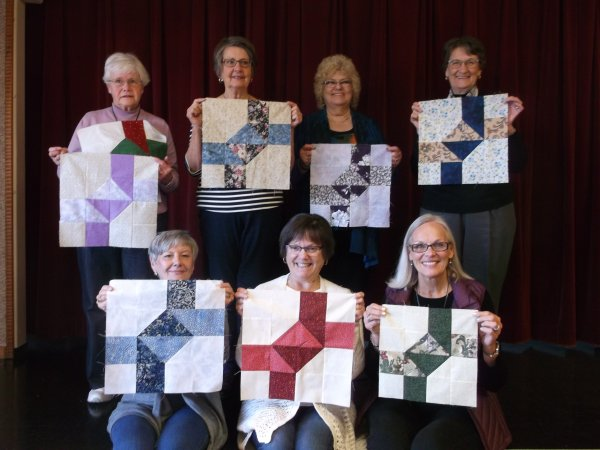 The Good Time Quilters of Blind Bay Sorrento, British Columbia, Canada