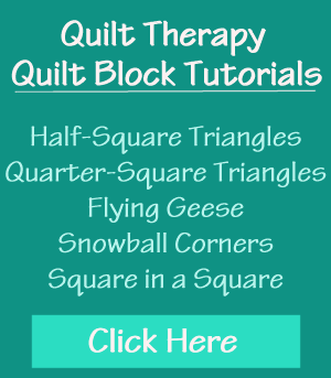 Quilt Therapy Quilt Tutorials