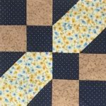 Good Time Quilters of Blind Bay Sorrento, British Columbia - Quilter #1 - Block #1