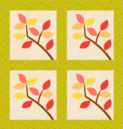 """Fall Splendor Quilt Blocks"" part of the ""Fall Splendor"" free to Quilt Dash members who complete the September 2019 Quilt Dash."