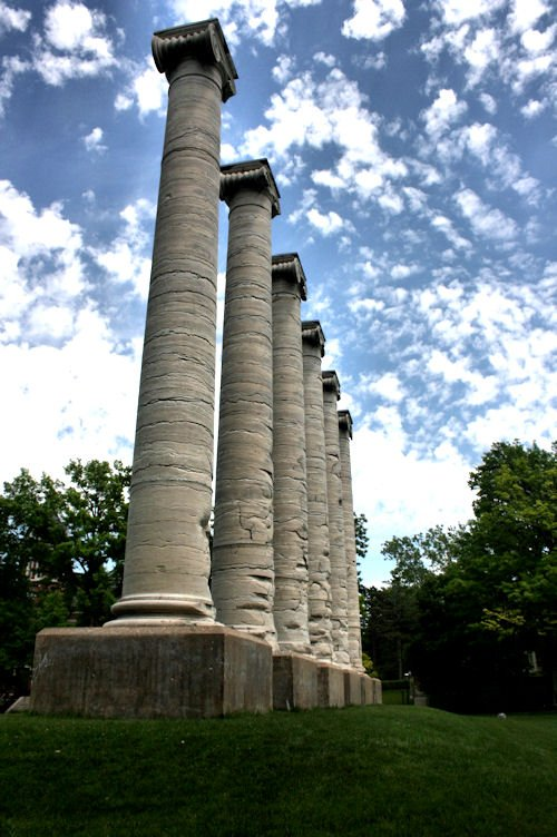 Mizzou Columns Photo Credit: TK Harrison