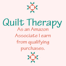 Quilt Therapy's Amazon Affiliate Disclaimer