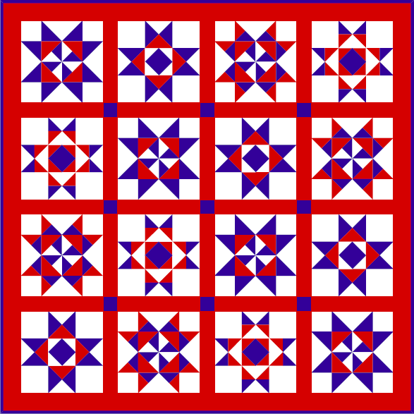 """In Honor"" Quilt Free Pattern for Members at QuiltDash.com!"