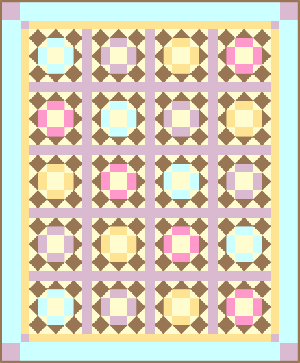 """Eggnog & Chocolate"" a Free Quilt Pattern for Those Members who Complete the November Quilt Dash!"