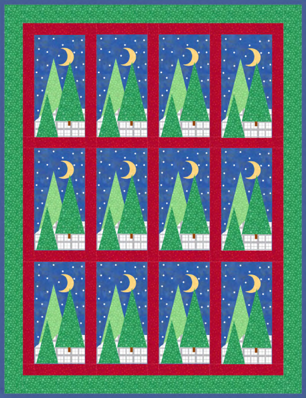 Winter Wonderland Quilt! A Free Pattern for Member's at Quilt Dash!