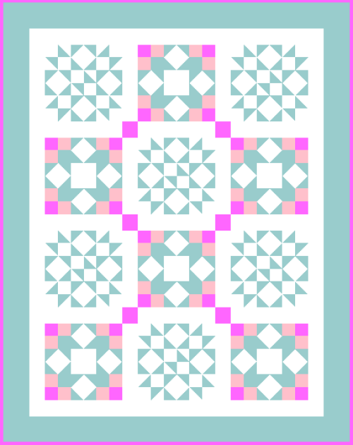 Bridal Wishes Quilt is a Free Pattern for Quilt Dash Members at QuiltDash.com!