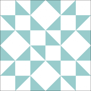 """Lover's Lane Quilt Block is a Free Pattern for a 12"""" quilt block at QuiltDash.com!"""