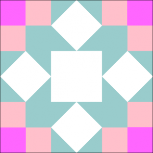 """Nirvana Quilt Block is a Free Pattern for a 12"""" quilt block at QuiltDash.com!"""