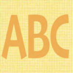 """Back to School ABC Appliqué Quilt Block is a Free Pattern for a 10"""" quilt block at QuiltDash.com!"""