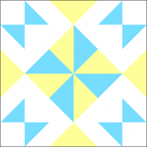 """Wishing Pinwheel Block #2 Quilt Block is a Free Pattern for a 12"""" quilt block at QuiltDash.com!"""