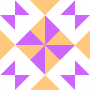 """Wishing Pinwheel Block #3 Quilt Block is a Free Pattern for a 12"""" quilt block at QuiltDash.com!"""