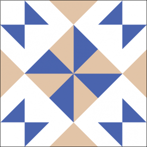 """Wishing Pinwheel Block #4 Quilt Block is a Free Pattern for a 12"""" quilt block at QuiltDash.com!"""